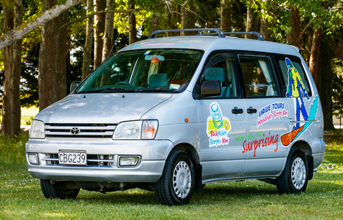 Backpacker Sleepervan for hire from Tui Sleepervans New Zealand