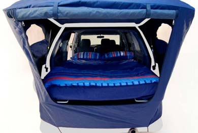Spaceships Beta campervan bed canopy