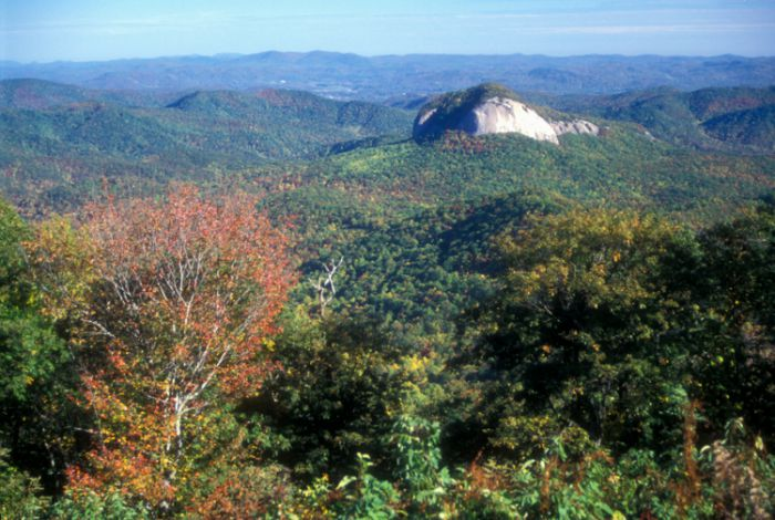 Looking Glass Rock NC