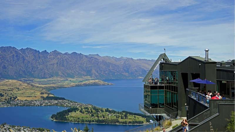 Head up Bobs Peak for the best view of Queenstown