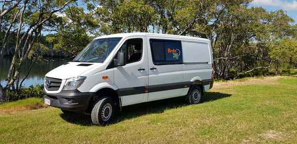 Britz 4wd Campervan Hire - The Scout 4wd campervan