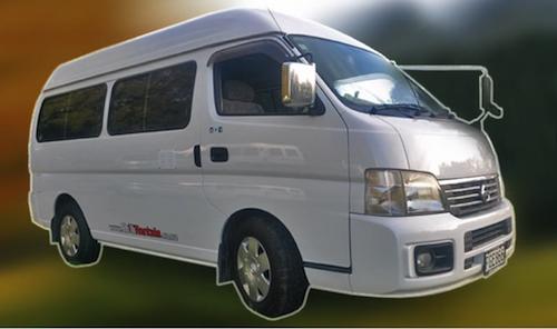 Chilli Rentals Super Traveller campervan for hire