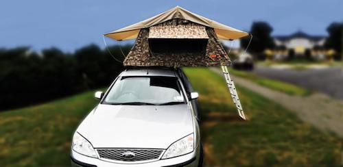 Chilli Rentals Vroom Big campervan with roof tent