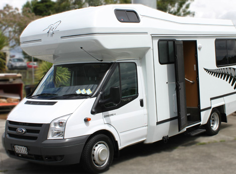 Concord Motorhome for hire from Kiwi Autohomes New Zealand