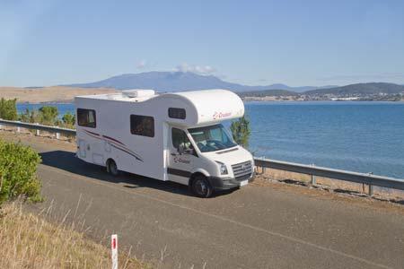 Cruisin Motorhome's Discovery motorhome for hire