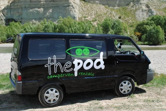 The Pod campervan rentals company - The Pod Van