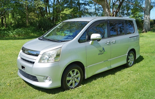 Deluxe Sleepervan for hire from Tui Sleepervans New Zealand