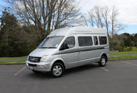 Esprit Campervan for hire from Kiwi Autohomes New Zealand