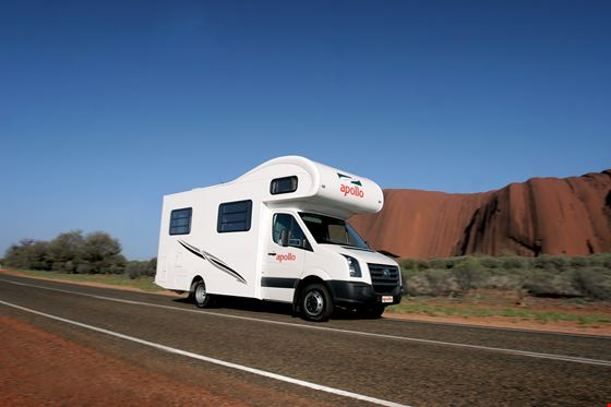 Euro Camper Apollo campervan hire New Zealand