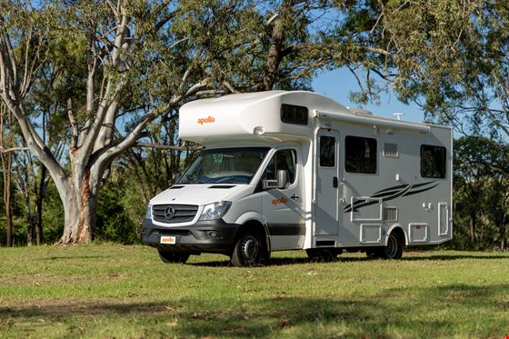 Euro Star Apollo campervan hire New Zealand