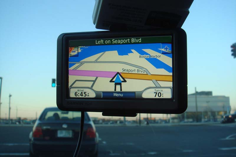 take your own sat nav on your campervan road trip