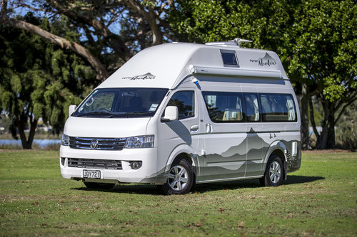 Foton Adventurer campervan from Nomad Rentals New Zealand