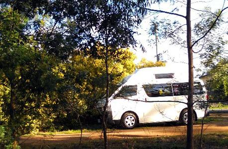 Go Cheap campervan hire 2 berth model