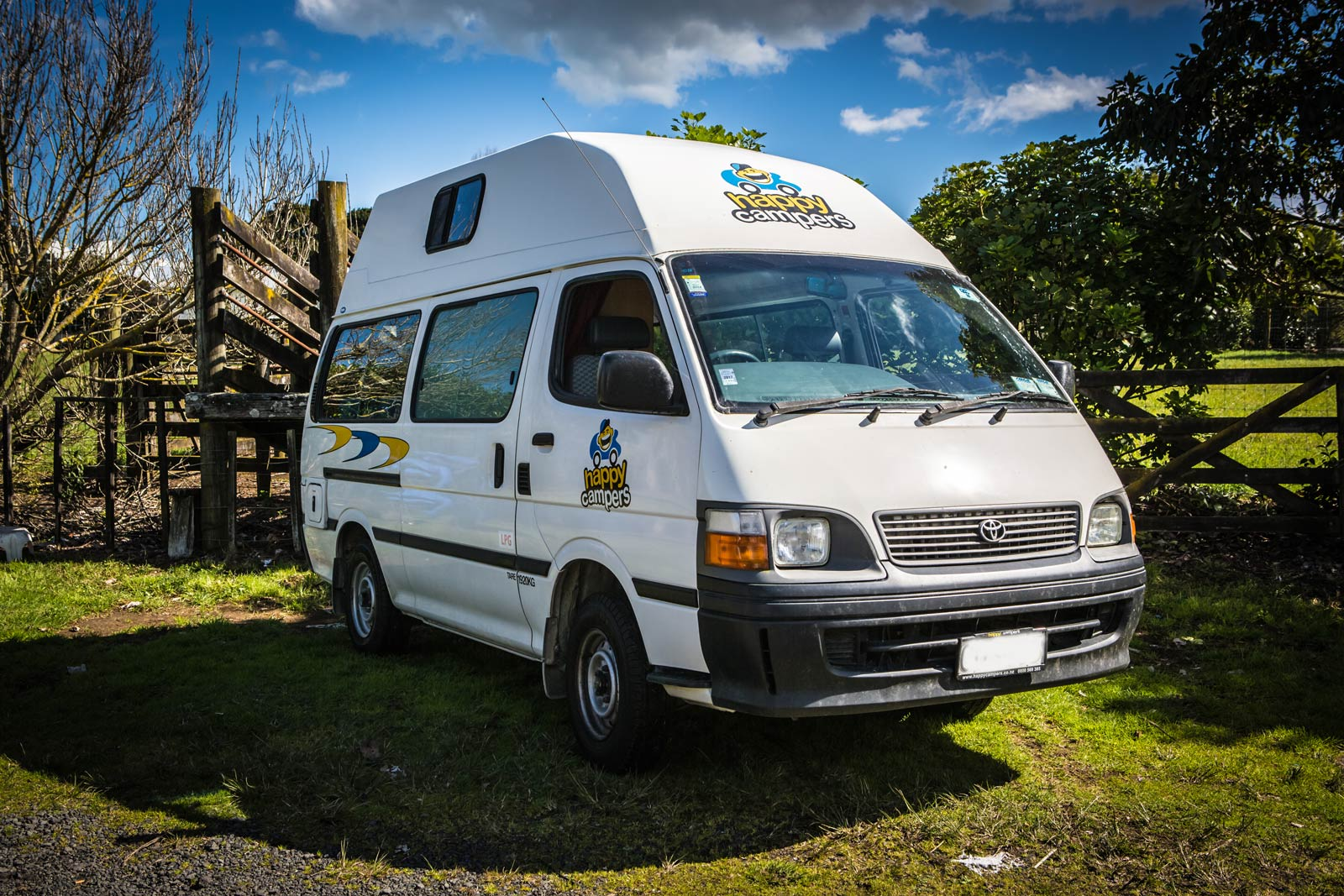Happy 3 from Happy Campers Campervan Hire New Zealand