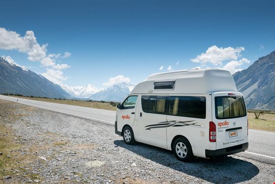 Apollo New Zealand's Hitop Campervan