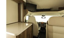 Jucy Casa Plus Motorhome Interior front