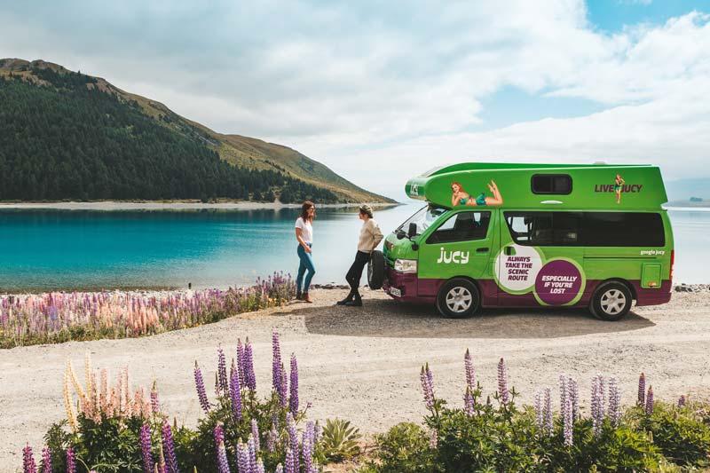 Jucy Rentals Australia Chaser campervan