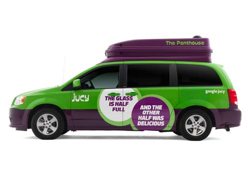 Jucy USA Trailblazer campervan - rooftop sleeping