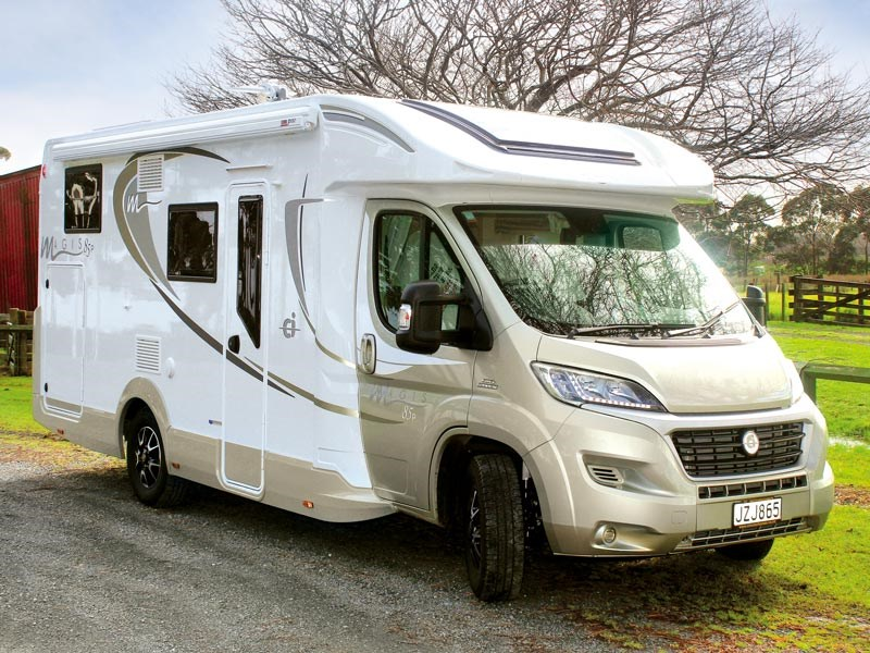 Magis 3 berth motorhome for hire from Walkabout Rentals New Zealand