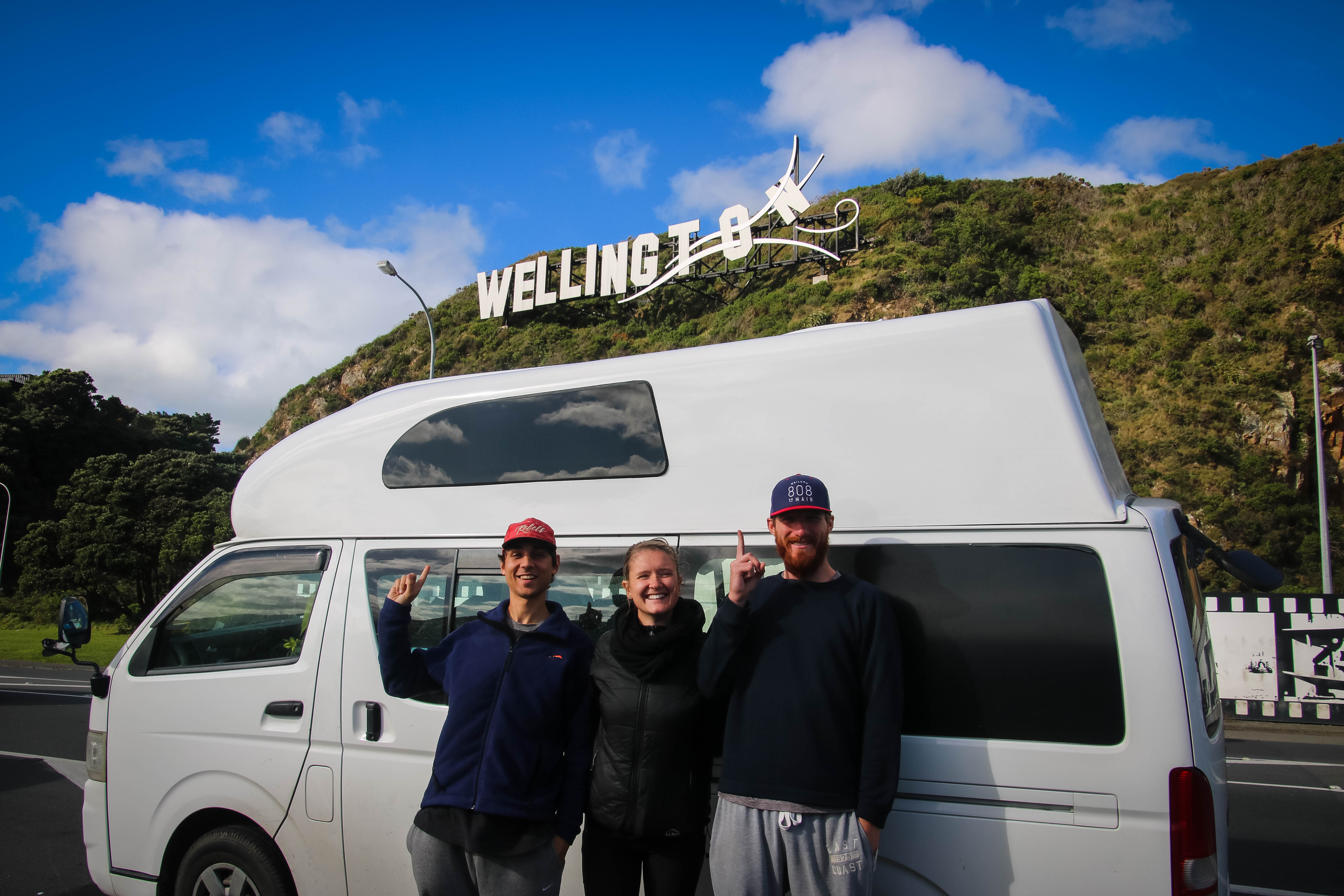 Campervan adventure hits Wellington New Zealand