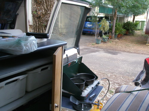 4wd campervan cooking facilities