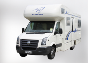 Riviera Motorhome for hire from Kiwi Autohomes New Zealand