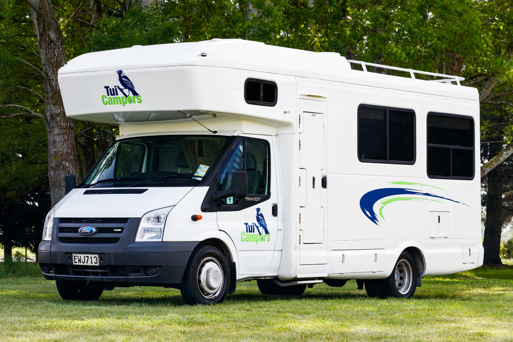 Trail Blazer motorhome from Tui Campers New Zealand