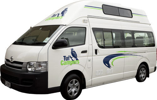 Tui Campers Trail finder campervan