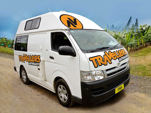 Budget Camper from Travellers Autobarn campervan hire