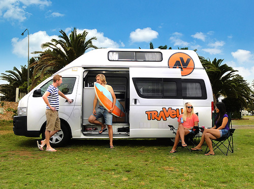 Hi 5 campervan for hire from Travellers Autobarn Australia