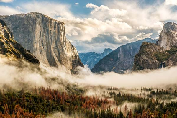 Yosemite National Park is great with and RV rental