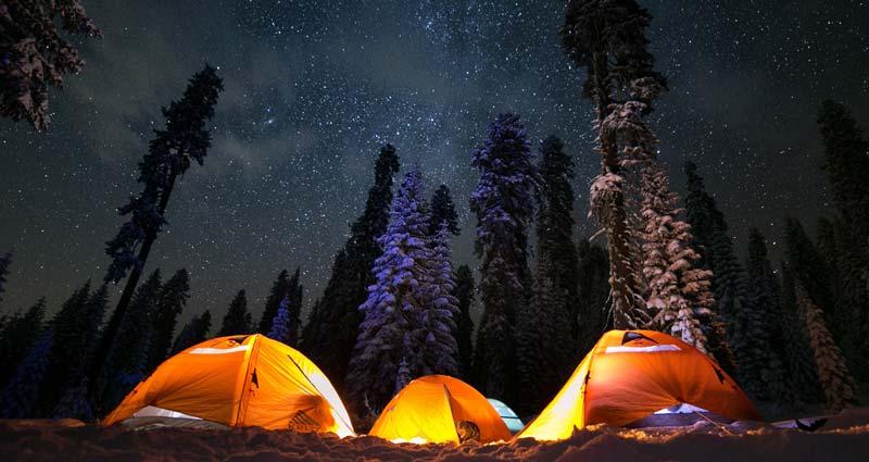 Sierra Nevada Camping