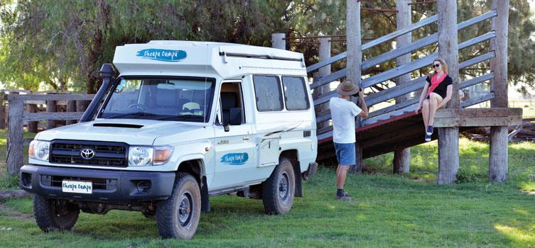 Cheapa Campa 4wd campervan Trailfinder