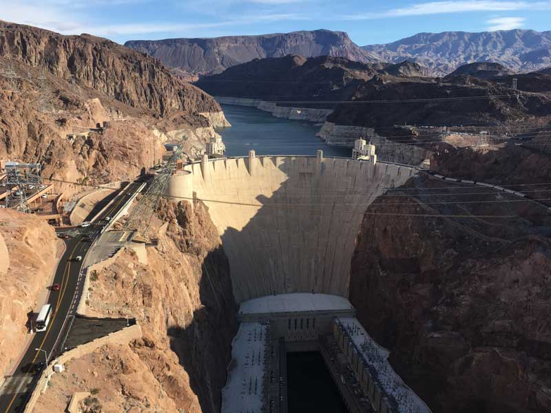 Take your RV to the Hoover Dam
