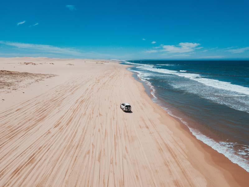 Get lost on Fraser Island