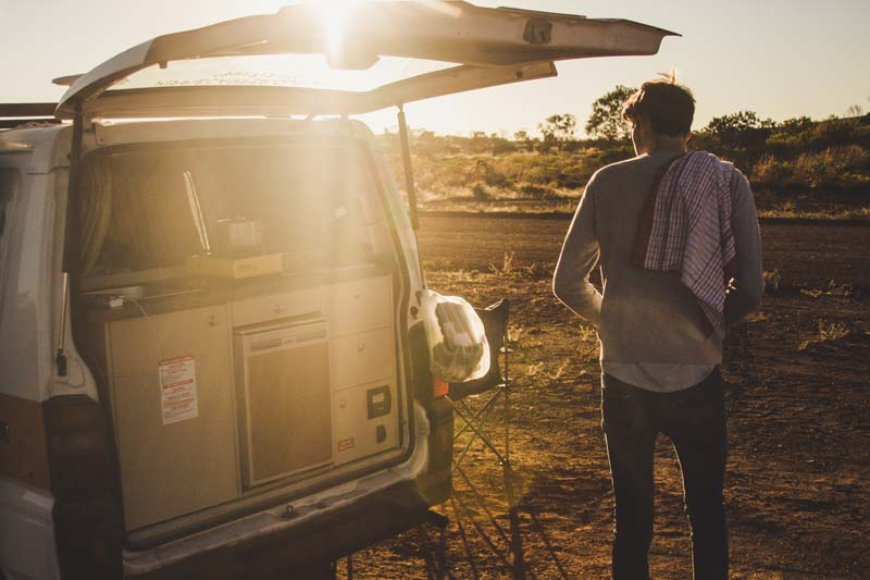 Campervan hire at sunrise: work out where you later