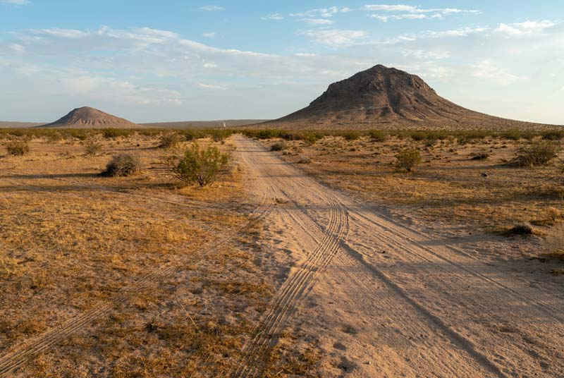 Take the RV to the Mojave