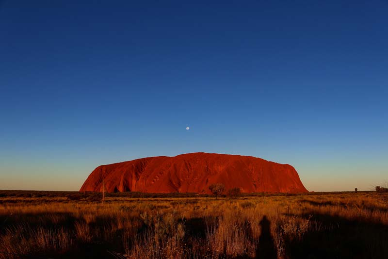Hire a 4wd campervan from Alice Springs and check out Uluru
