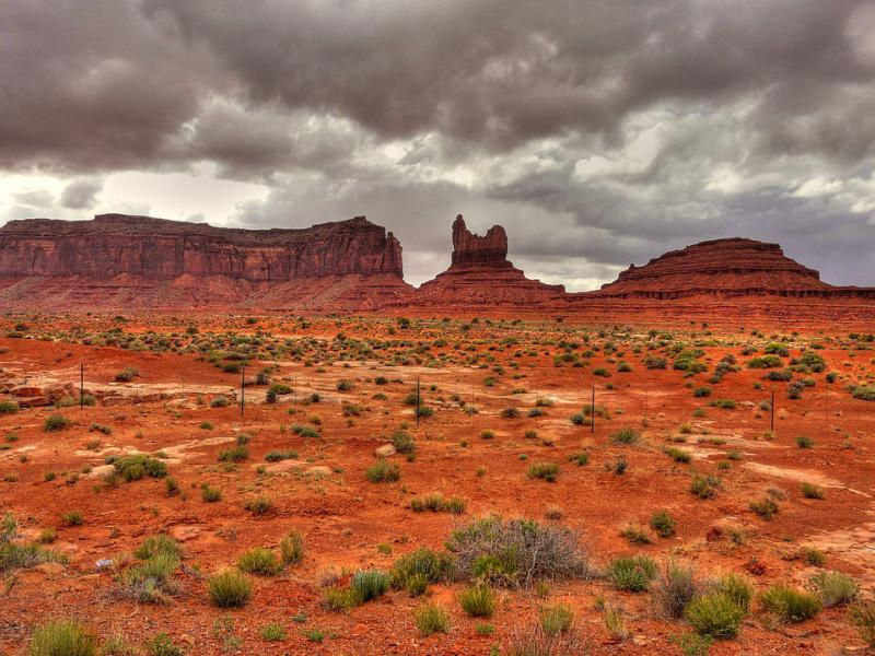 The beautiful Monument Valley