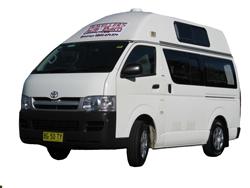 Travellers Autobarn budget hi-top campervan