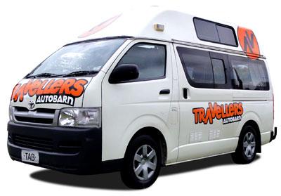 Travellers Autobarn Kuga campervan hire