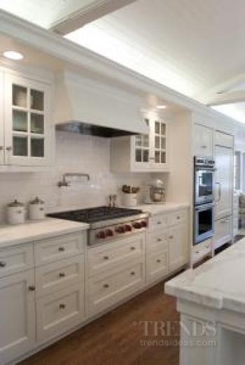 Kitchen renovation with New England look
