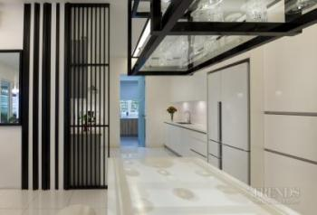 Resort-style townhouse remodel by Interlink Design