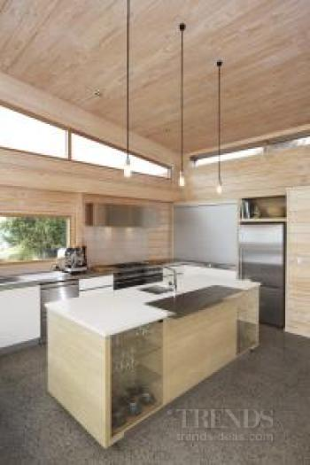 Modern irene james designed kitchen in lockwood house for Kitchen ideas new zealand