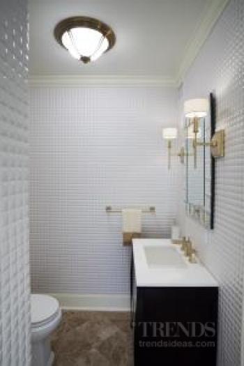 Small powder room remodel