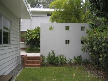 Home renovation with outdoor entertaining area, pool