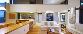 Contemporary beach house in Queensland