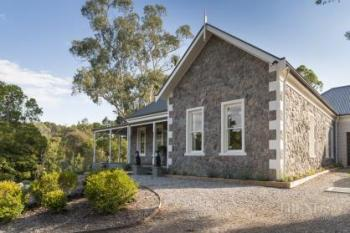 Stone cottage-style new home