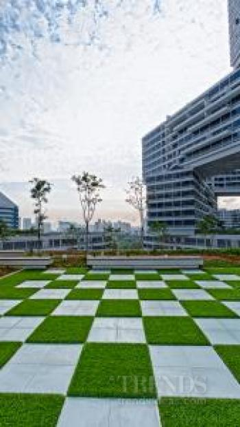 The Interlace, an apartment complex in Singapore by OMA