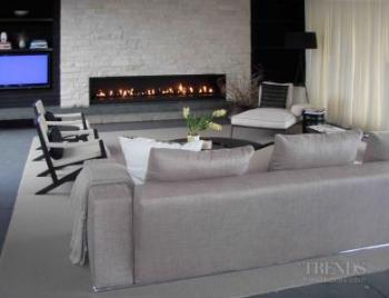 Custom designed gas, wood, and outdoor fireplaces from Fires by Design